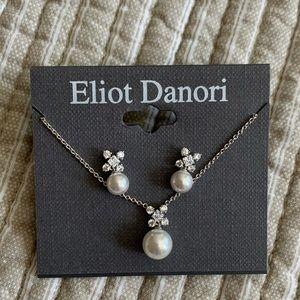 Eliot Danori Pendant Necklace & Drop Earrings Set
